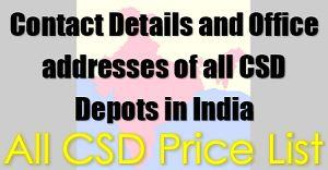 ALL CSD PRICE LIST