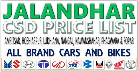 CSD Jalandhar Contact Details (Updated June 2018)
