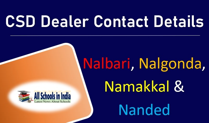 CSD Dealer List of Nalbari with Contact Details